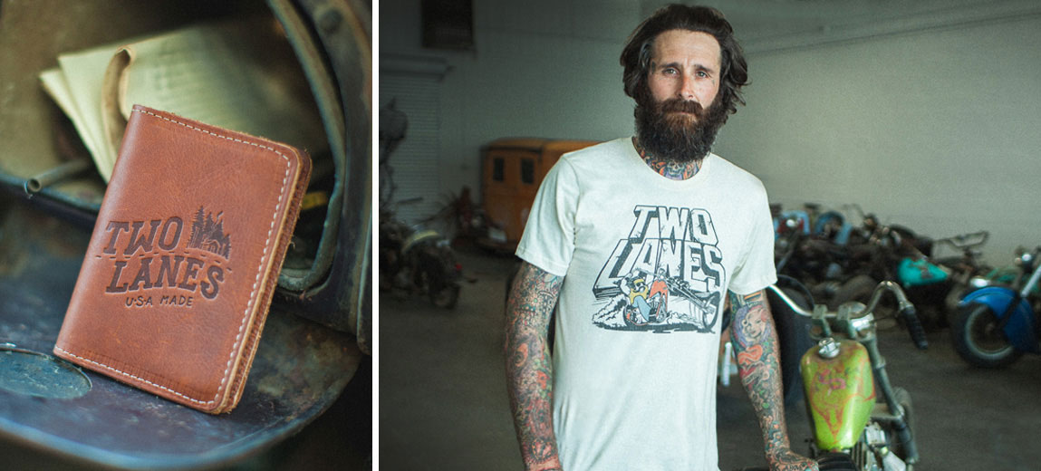 Two Lanes Apparel By Mike Wolfe Usa Made